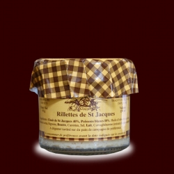 /Rillettes de St Jacques 130 ml